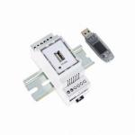 ST-USB Digitaler Schaltschrank Dokumentenhalter